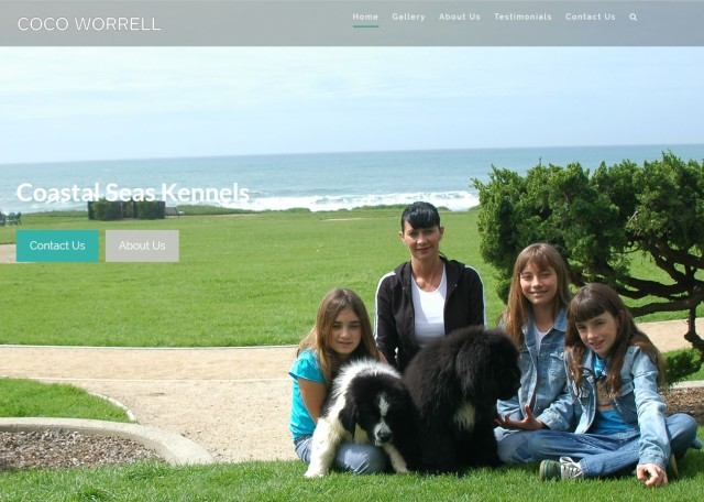 Shoreline Web Marketing is proud to announce the re-launch of Coastal Seas Kennels.  Based in San Diego, Coco Worrell is a renowned dog trainer and breeder of Newfoundlands.  … Read More